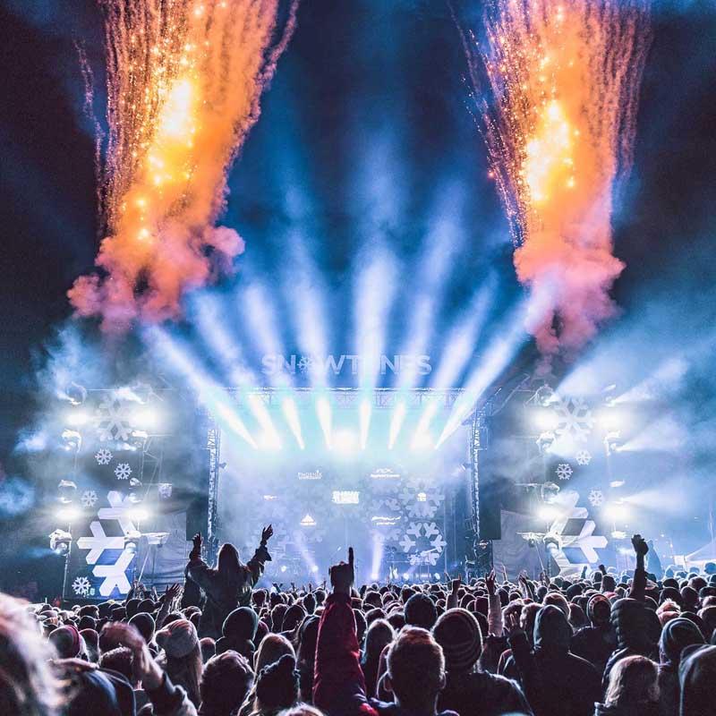 social media agency for music festivals and brands